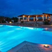 Masseria con piscina