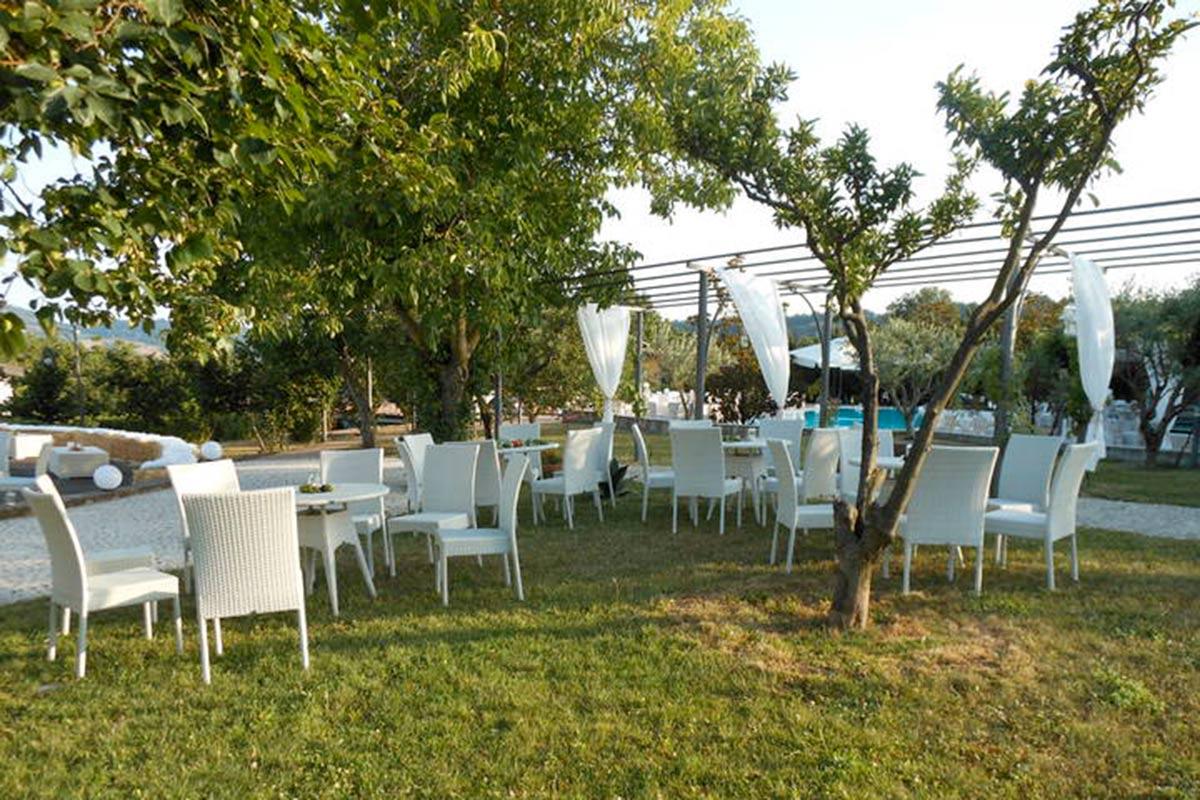 Matrimonio all'aperto a Salerno
