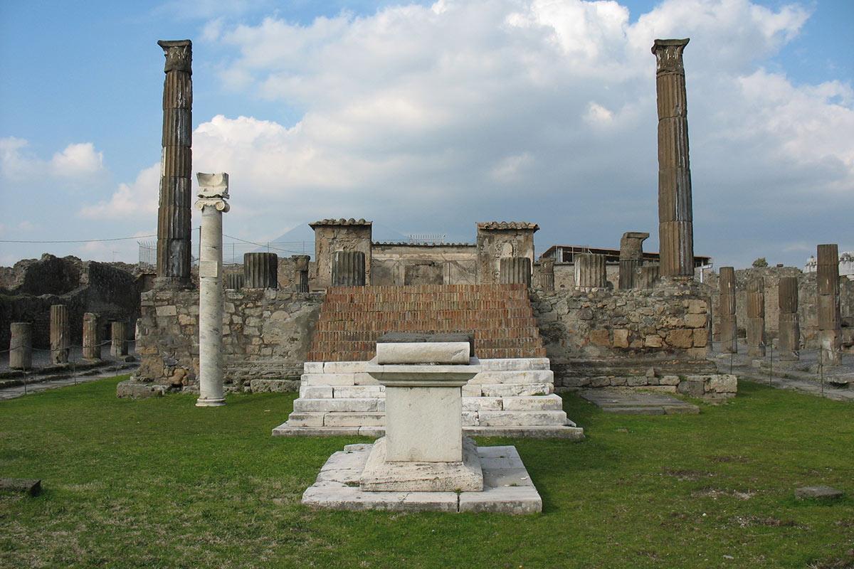 Tempo di Apollo a Pompei