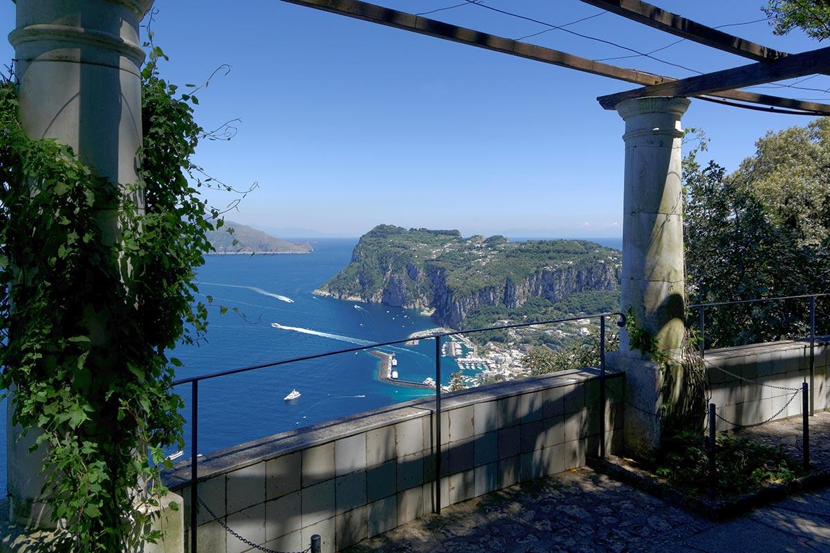 Villa san Michele a Capri