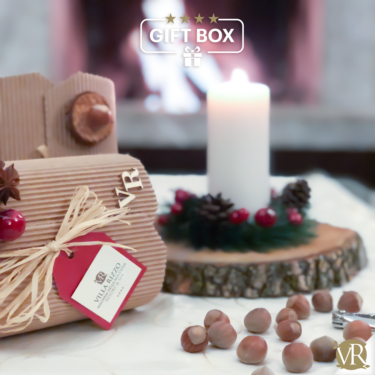 Gift Box Villa Rizzo